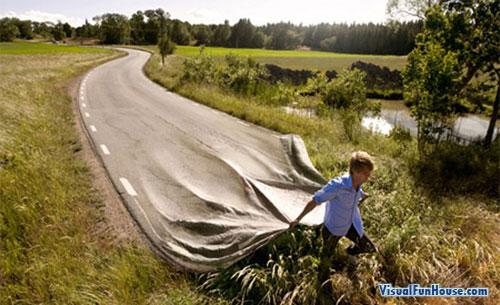 plastic-road