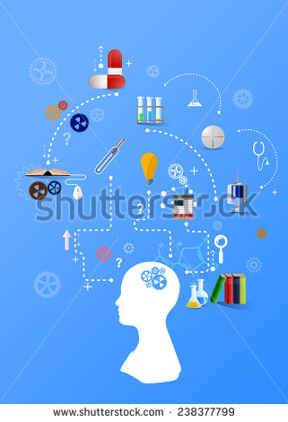 stock-vector-medicine-themed-infographic-on-blue-background-with-human-silhouette-238377799