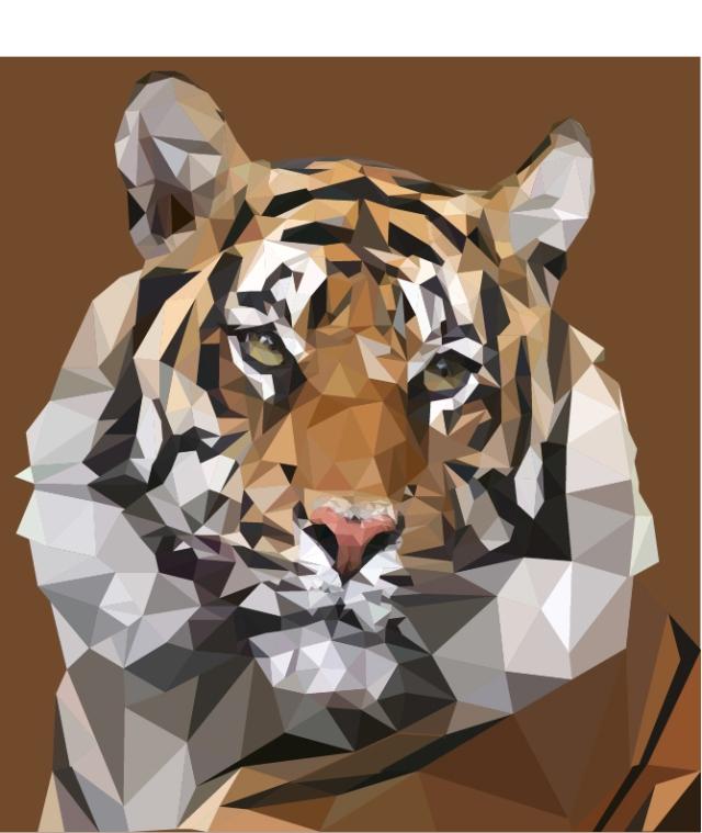 tiger geometric-Mason Stanley