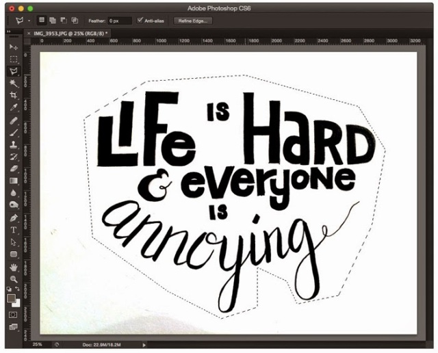 Paper to Digital: Digitize Your Hand Lettering Using Illustrator