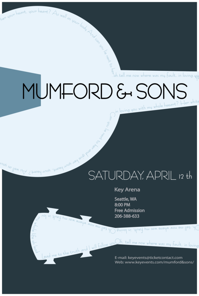mumford_and_sons_concert_poster__colored_by_neonducttape-d4hzffj